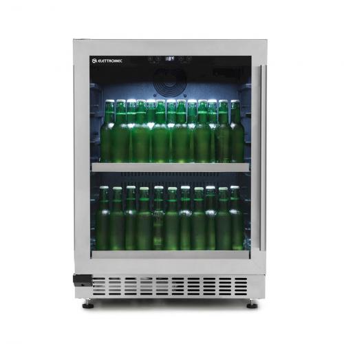 Cervejeira de Embutir Elettromec Beer Center 135 Litros Abertura para Esquerda - BC-BI-135-XV-XATB