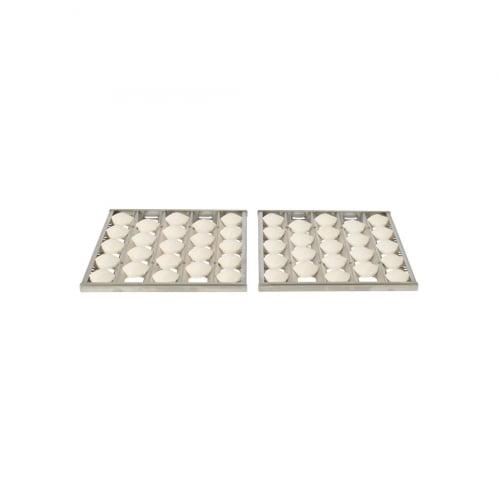 Conjunto de Briquetes Cerâmicos para Churrasqueira Coyote C1C28 - 2 Peças
