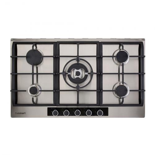 Cooktop a Gás Cuisinart Casual Cooking 5 Queimadores Inox 90cm 220V P950STXL
