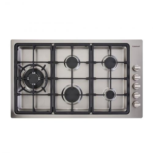 Cooktop à Gás Cuisinart Prime Cooking 5 Queimadores Inox 90cm 220V PLF950SLTX-E