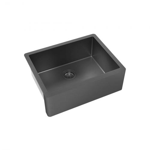 Cuba para Cozinha DeBacco Primaccore Farm Sink Nano Black