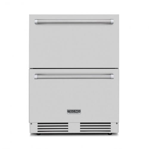 Gaveta Refrigerada Tecno Professional Gourmet 136 Litros Inox 220V - TR14GXDA
