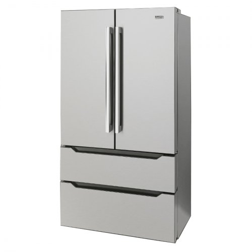 Refrigerador Tecno Original French Door Inverter 636 Litros Inox 110V - TR65FXDA