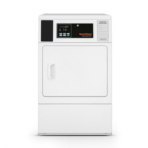 Secadora Comercial Elétrica Speed Queen Quantum 8,2 Kg Branca sem Cofre e Ficheiro 220V - SDENXAGS543DW01