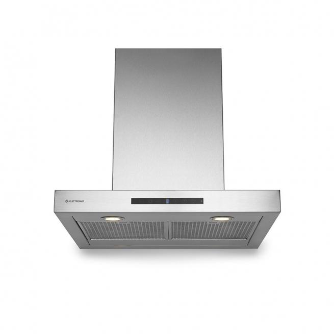 Coifa Elettromec Milano Parede Inox 60cm - CFP-MLN-60-XX
