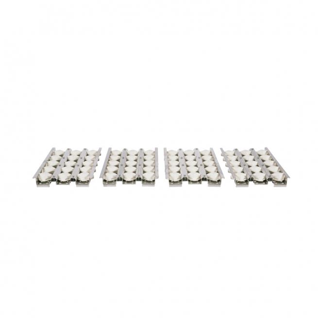 Conjunto de Briquetes Cerâmicos para Churrasqueira Coyote CBRIQ42 - 5 Peças