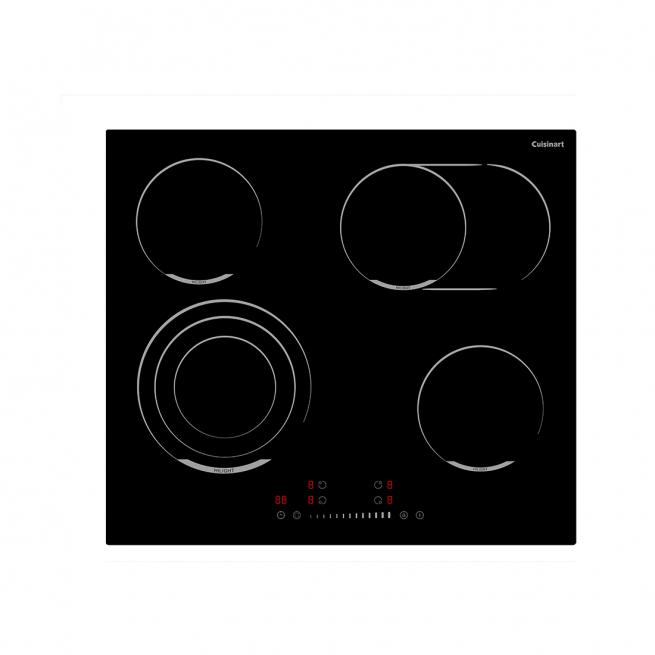 Cooktop Elétrico Vitrocerâmico Cuisinart Arkton 4 Queimadores 59cm 220V - 4093860002