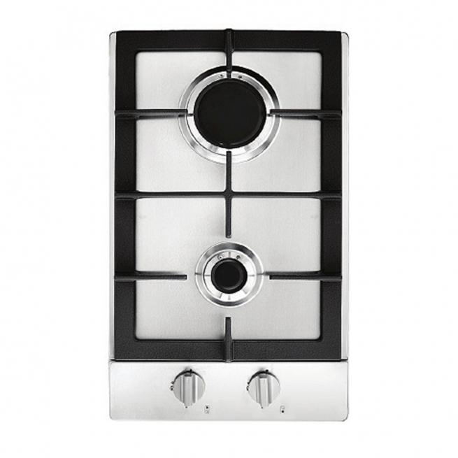 Cooktop Dominó à Gás Cuisinart Prime Cooking 2 Queimadores Inox 30cm 220V PFA320SX