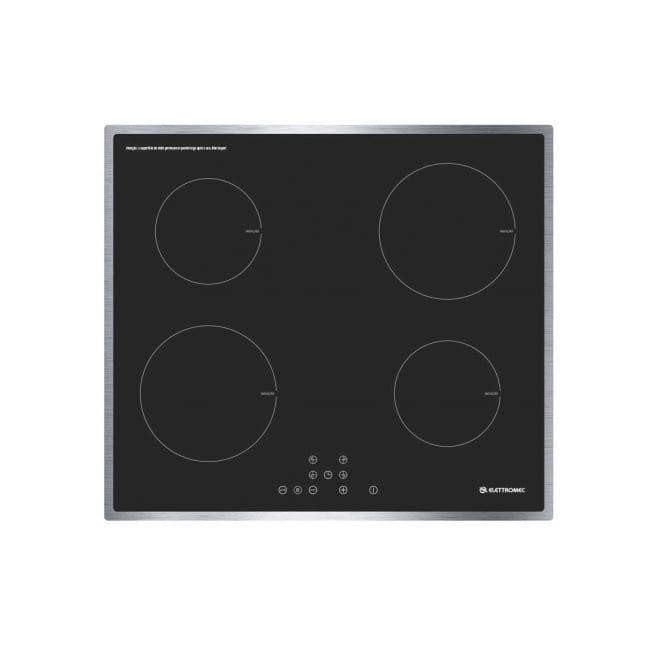 Cooktop Elétrico Indução Elettromec 4 Bocas 60cm 220V CKI-4Q-60-CI-2XBA