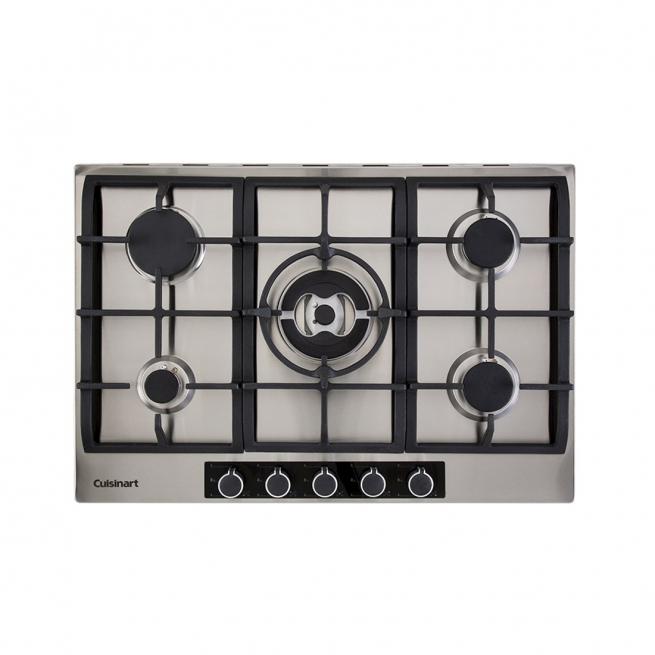 Cooktop à Gás Cuisinart Casual Cooking 5 Queimadores Inox 75cm 220V P750STX