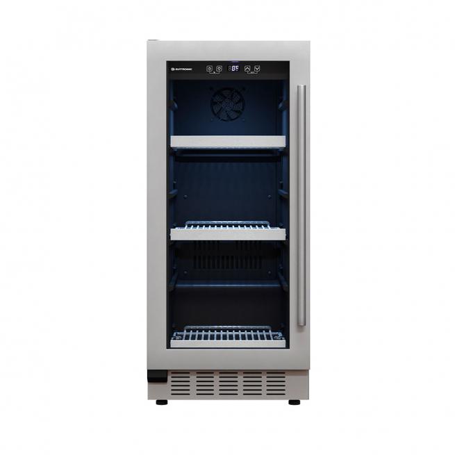 Frigobar Elettromec de Embutir 86 Litros Abertura para Esquerda Inox 220V