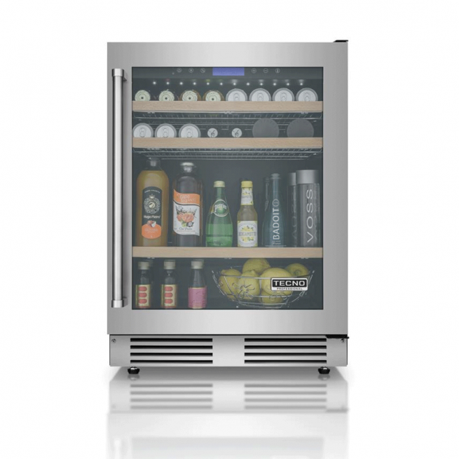 Frigobar Tecno Professional Gourmet 136 Litros de Embutir Inox 220V - TR14BVDA