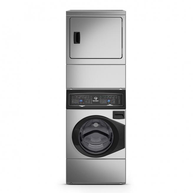 Lavadora e Secadora Elétrica de Roupas Speed Queen 10,5 Kg Inox 220V - ATEE9A