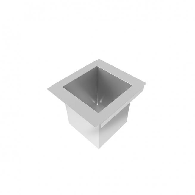 Porta Potes Mini Horta DeBacco Inox 15cm - 20.04.00114