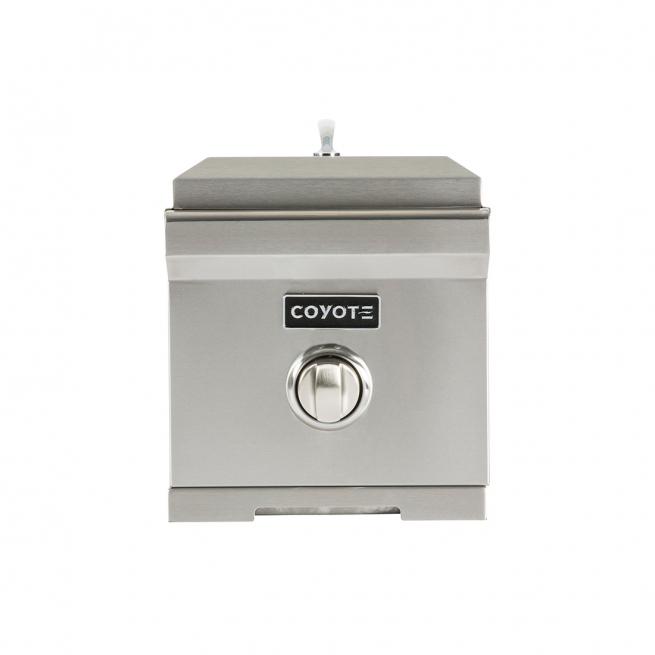 Queimador Lateral de Embutir à Gás Coyote Single Burner GLP - C1SB-LP