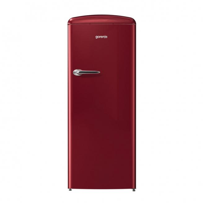 Refrigerador Gorenje Retrô Ion Generation Bordeaux 220V