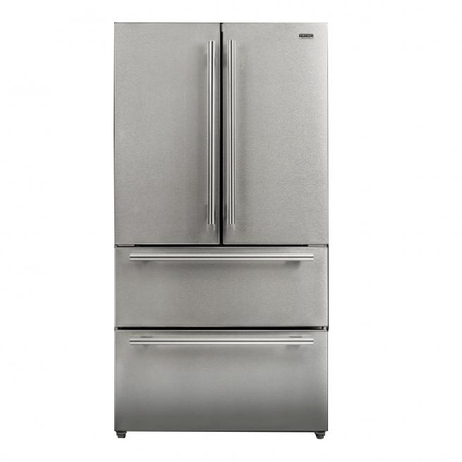 Refrigerador Tecno Original French Door Inverter 545 Litros Inox 110V - TR54FXDA