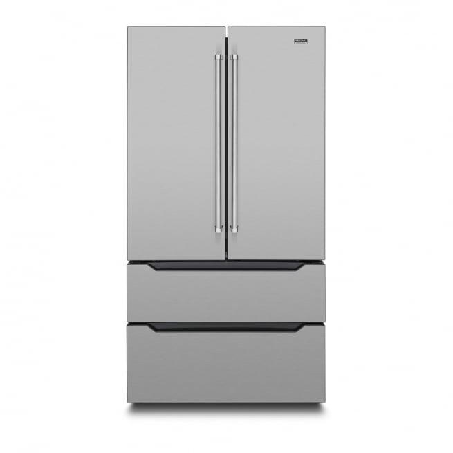 Refrigerador Tecno Professional French Door Inverter 636 Litros Inox 110V