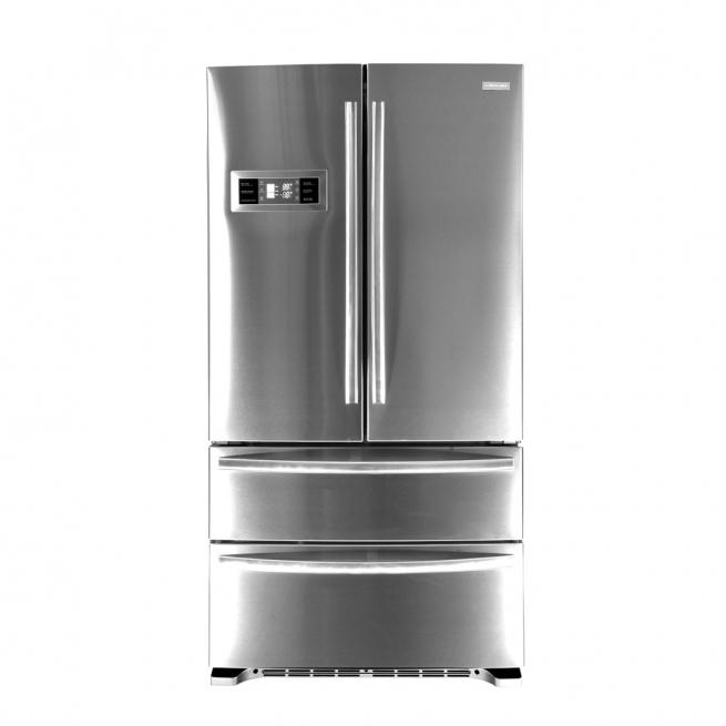 Refrigerador Crissair French Door RFD01 590 Litros Inverter Inox 127V