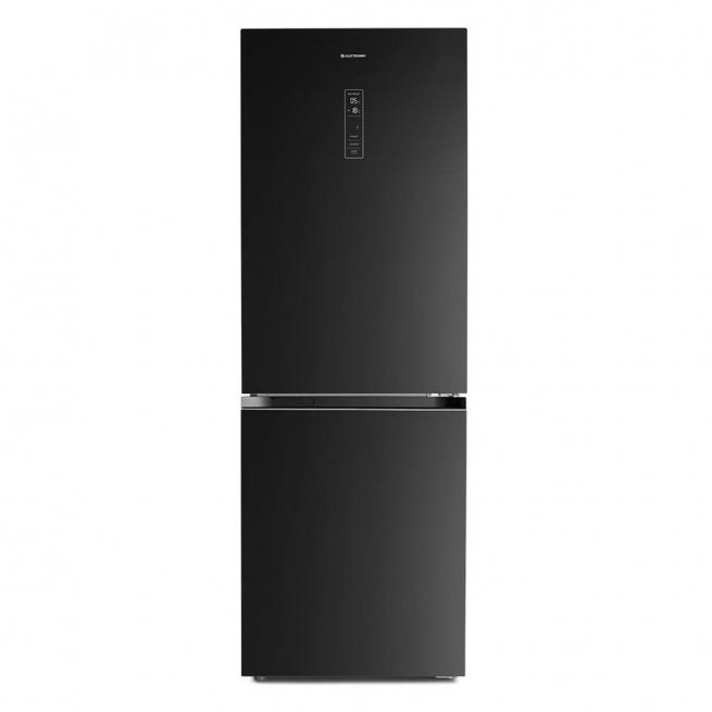 Refrigerador Elettromec Vetro Bottom Freezer 317 Litros Vidro Preto 220V - RF-BF-360-VT-2HMA