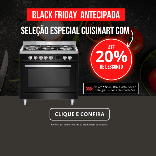 Black Friday Cuisinart com até 20% off!