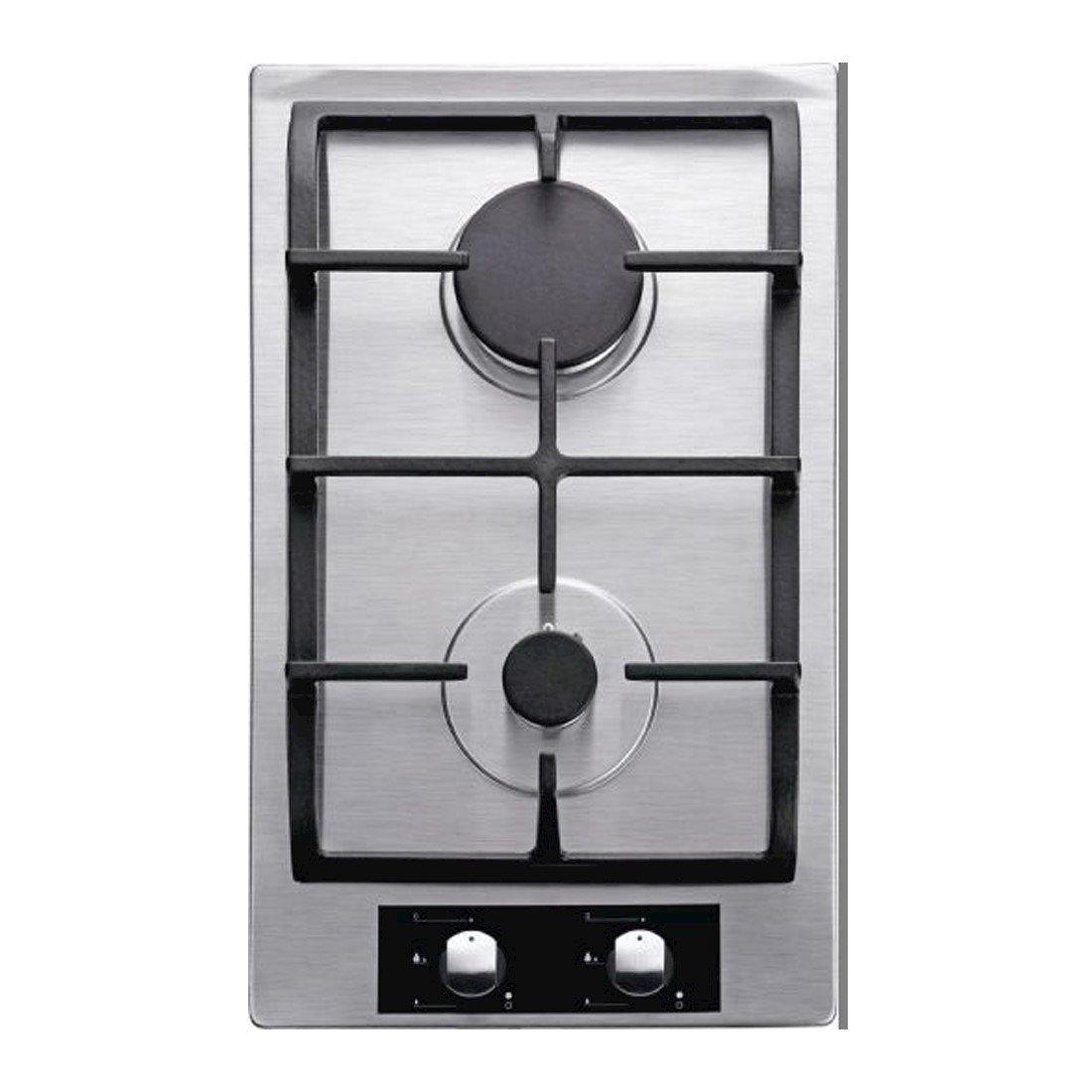 Cooktop Dominó à Gás Cuisinart Casual Cooking 2 Queimadores Inox 30cm 220V P320SX